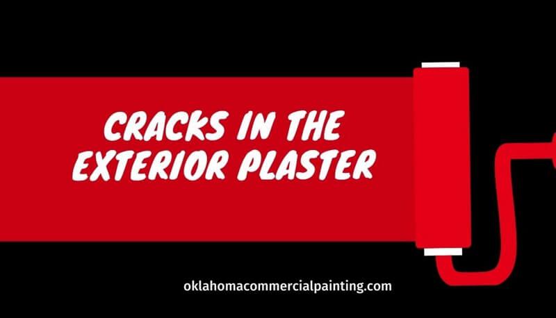 Cracks in the Exterior Plaster